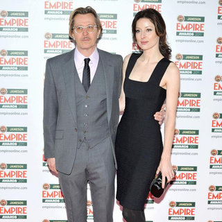 Gary Oldman, Alexandra Edenborough in The Jameson Empire Awards 2011 - Arrivals