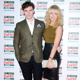 Sam Clafin, Laura Haddock in The Jameson Empire Awards 2011 - Arrivals