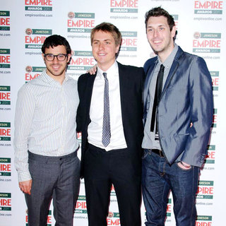 Simon Bird, Joe Thomas, Blake Harrison in The Jameson Empire Awards 2011 - Arrivals