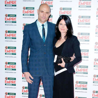 Mark Strong, Liza Marshall in The Jameson Empire Awards 2011 - Arrivals