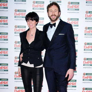 Dawn Porter, Chris O'Dowd in The Jameson Empire Awards 2011 - Arrivals