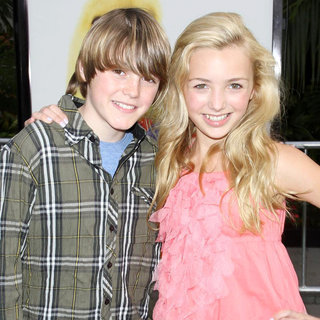 Spencer List, Peyton List in Los Angeles Premiere of 'Hop'