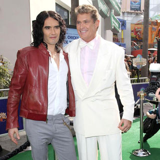 Russell Brand - Los Angeles Premiere of 'Hop'