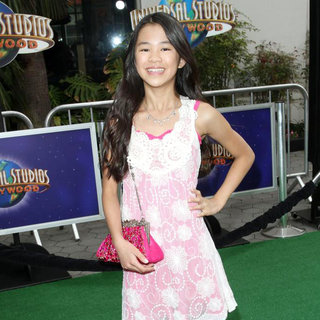 Tiffany Espensen in Los Angeles Premiere of 'Hop'