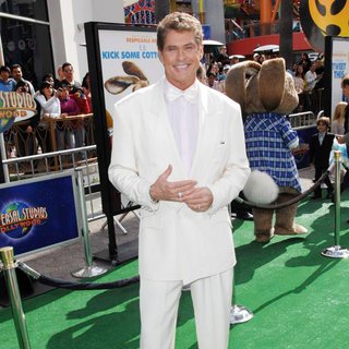 David Hasselhoff in Los Angeles Premiere of 'Hop'