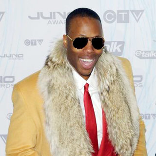 Kardinal Offishall in 2011 JUNO Awards - Arrivals