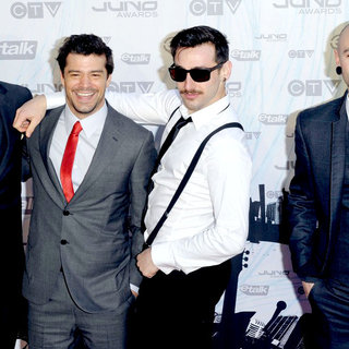 Hedley in 2011 JUNO Awards - Arrivals