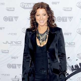Sarah McLachlan in 2011 JUNO Awards - Arrivals