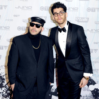 Chromeo in 2011 JUNO Awards - Arrivals
