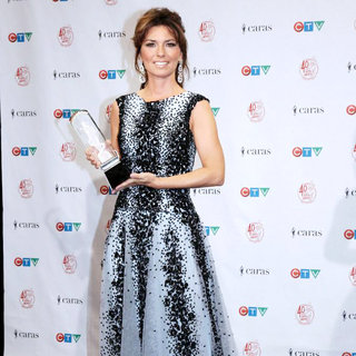 Shania Twain in The 2011 JUNO Awards - Press Room