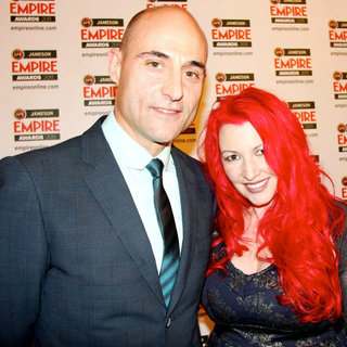Mark Strong, Jane Goldman in The Jameson Empire Awards 2011 - Press Room