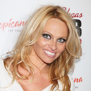 Pamela Anderson in Las Vegas MOB Experience Grand Opening Night