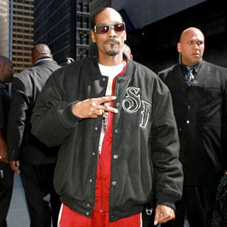 Snoop Dogg - The Late Show with David Letterman' at The Ed Sullivan Theater - Arrivals