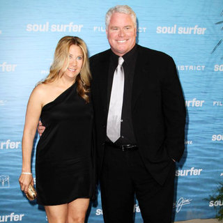 Christina Lambert, Sean McNamara in The Los Angeles Premiere of 'Soul Surfer'