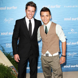 Ross Thomas, Cody Gomes in The Los Angeles Premiere of 'Soul Surfer'