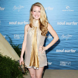 Christie Brooke in The Los Angeles Premiere of 'Soul Surfer'