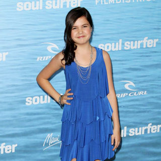 Bailee Madison in The Los Angeles Premiere of 'Soul Surfer'