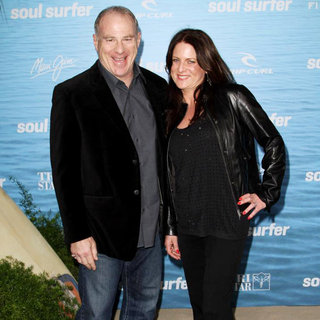 David Zelon, Cathy Schulman in The Los Angeles Premiere of 'Soul Surfer'