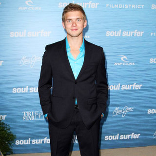 Chris Brochu in The Los Angeles Premiere of 'Soul Surfer'