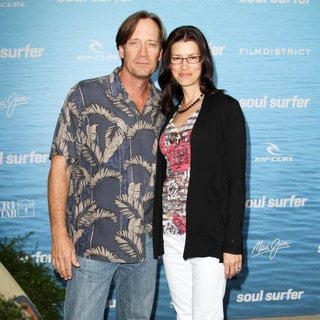 Kevin Sorbo, Sam Jenkins in The Los Angeles Premiere of 'Soul Surfer'