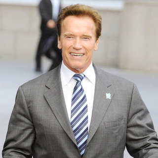 Arnold Schwarzenegger in A Photocall for Barclay's Cycle Hire Scheme - wenn3274972