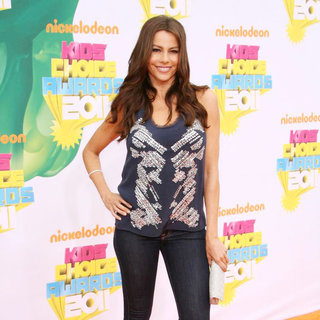 Sofia Vergara in Nickelodeon's 2011 Kids Choice Awards