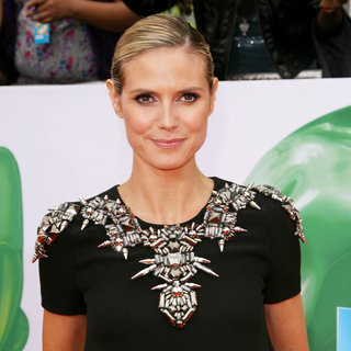 Heidi Klum in Nickelodeon's 2011 Kids Choice Awards