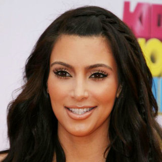 Kim Kardashian in Nickelodeon's 2011 Kids Choice Awards