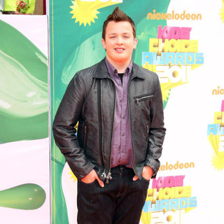 Noah Munck in Nickelodeon's 2011 Kids Choice Awards