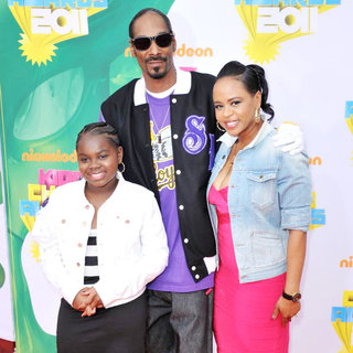 Cori Broadus, Snoop Dogg, Shante Broadus in Nickelodeon's 2011 Kids Choice Awards