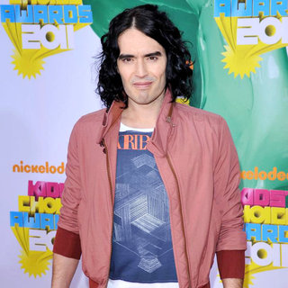 Russell Brand in Nickelodeon's 2011 Kids Choice Awards