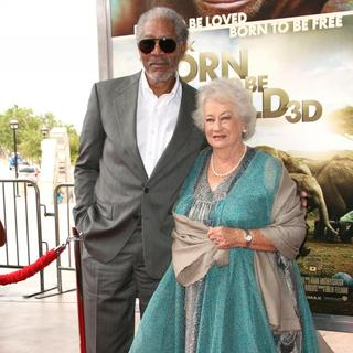 Morgan Freeman, Daphne Sheldrick in World Premiere of Born to Be Wild 3D
