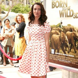 Kristin Davis in World Premiere of Born to Be Wild 3D
