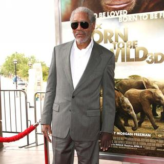 Morgan Freeman in World Premiere of Born to Be Wild 3D