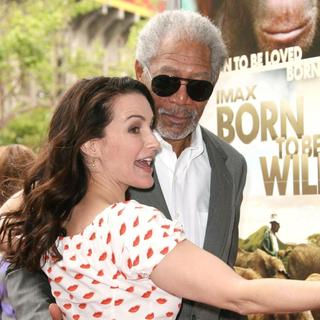 Kristin Davis, Morgan Freeman in World Premiere of Born to Be Wild 3D