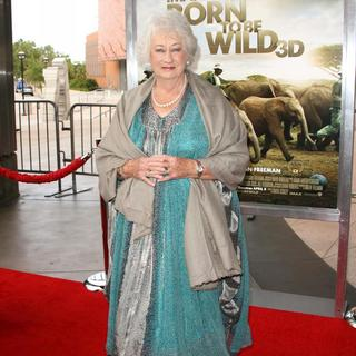 Daphne Sheldrick in World Premiere of Born to Be Wild 3D