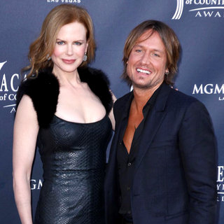 Nicole Kidman, Keith Urban in The Academy of Country Music Awards 2011 - Arrivals