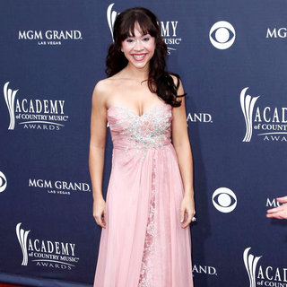 Diana DeGarmo in The Academy of Country Music Awards 2011 - Arrivals