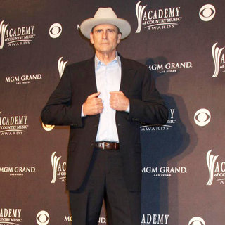 James Taylor in The Academy of Country Music Awards 2011 - Press Room