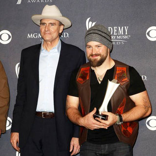 James Taylor, Zac Brown in The Academy of Country Music Awards 2011 - Press Room