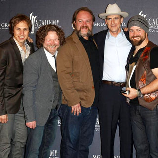 Zac Brown Band, James Taylor in The Academy of Country Music Awards 2011 - Press Room
