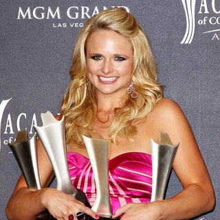 Miranda Lambert in The Academy of Country Music Awards 2011 - Press Room
