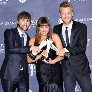 Lady Antebellum in The Academy of Country Music Awards 2011 - Press Room