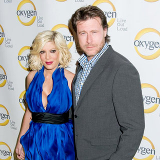 Tori Spelling, Dean McDermott in Oxygen Upfront Presentation, New York City, USA