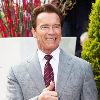 Arnold Schwarzenegger in Arnold Schwarzenegger Attends A Photocall During MIPTV