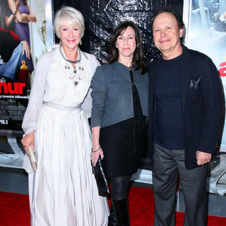 Helen Mirren, Janice Goldfinger, Billy Crystal in New York Premiere of 'Arthur' - Arrivals