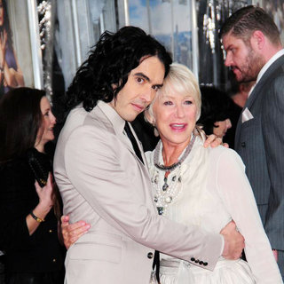 Russell Brand, Helen Mirren in New York Premiere of 'Arthur' - Arrivals