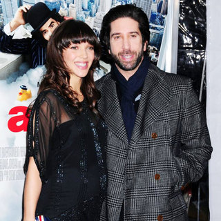 Zoe Buckman, David Schwimmer in New York Premiere of 'Arthur' - Arrivals