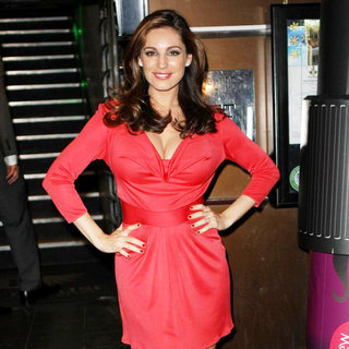 Kelly Brook in Lynx Excite: Last Party on Earth Launch