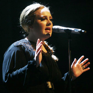 Adele in Adele Performing Live at The Paradiso